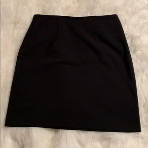 👗Classic black business skirt